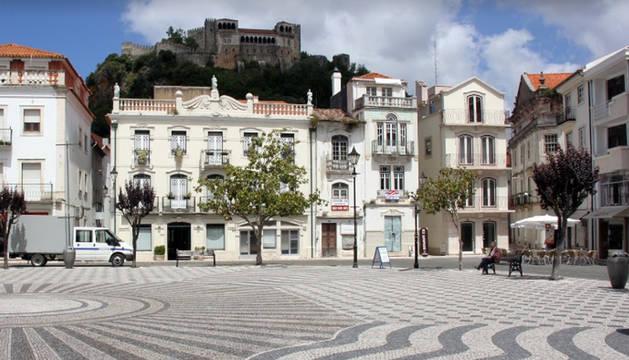Vista de la localidad portuguesa de Leiria.