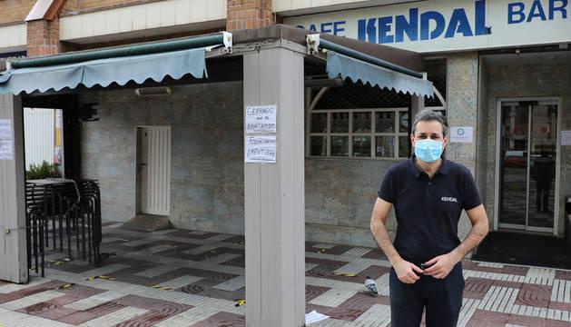 Tramitadas 70 solicitudes para  ampliar terrazas en Pamplona