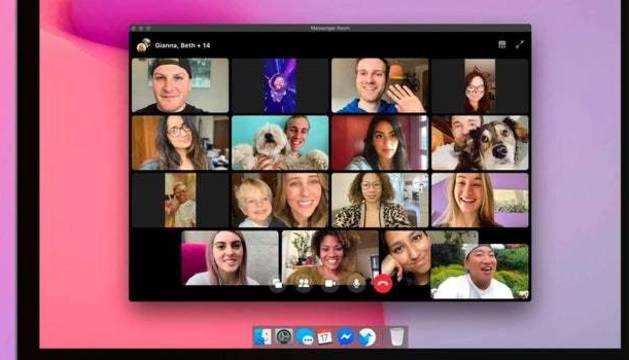 Messenger Rooms permite contectarse hasta 50 personas.