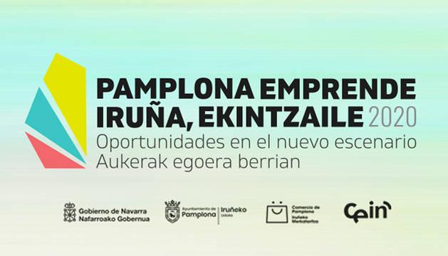 Iniciativa 'Pamplona Emprende' del Ayuntamiento de Pamplona.