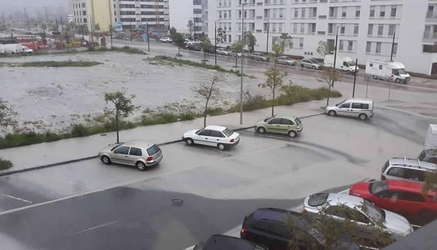 Las lluvias vuelven a dar problemas en Blas de la Serna