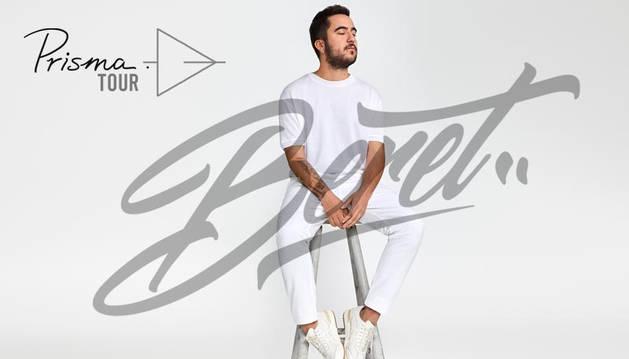 Cartel promocional de Prisma Tour, de Beret.