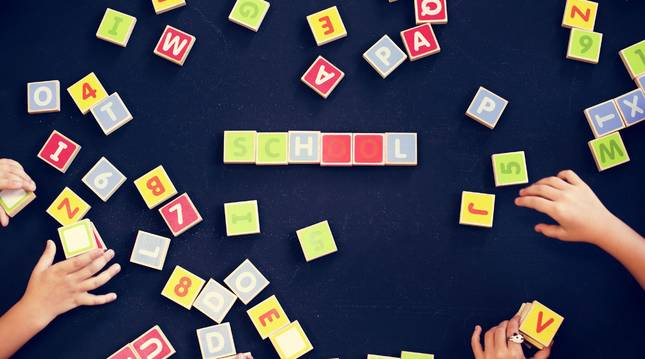Aprender letras y números es un proceso natural en los más pequeños.