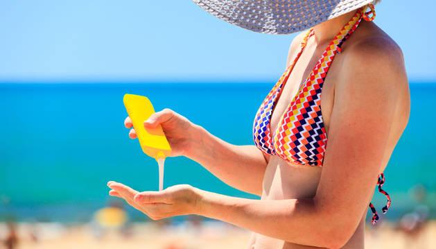 Algunos coomponentes de los productos de protección solar pueden causar alergia.