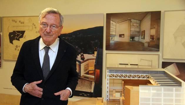El arquitecto tudelano Rafael Moneo.