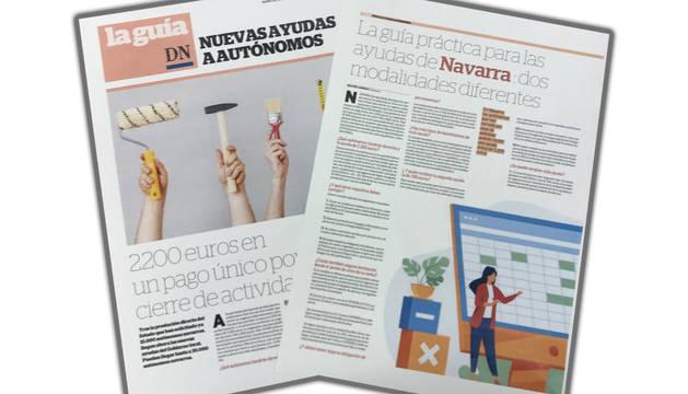 Mañana, con Diario de Navarra, Guía de las nuevas ayudas para los autónomos