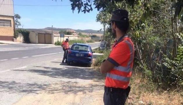 Inmovilizados en cuatro horas siete vehículos por positivos en drogas de sus conductores