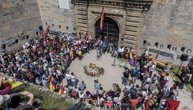 Homenaje en el 80 aniversario de la fuga de presos del fuerte, 2018.