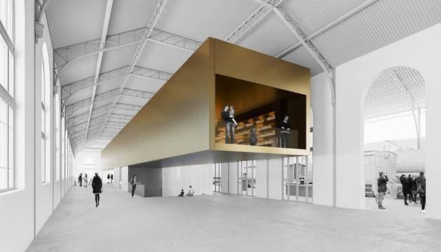 El estudio GVEl estudio GVG transformará el Museo del FerrocarrilG transformará el Museo del Ferrocarril