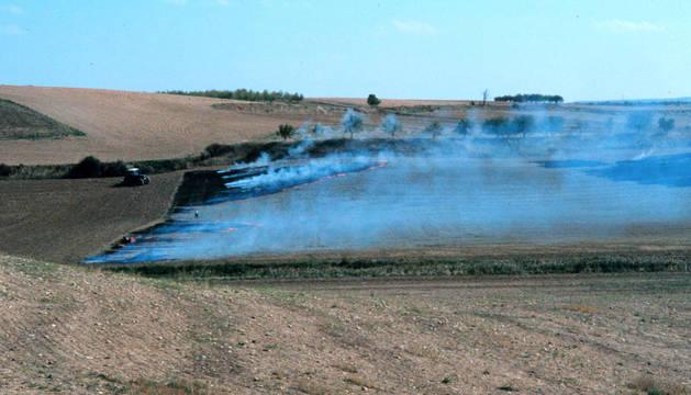 El Gobierno recomienda extremar las precauciones en quemas en el medio rural