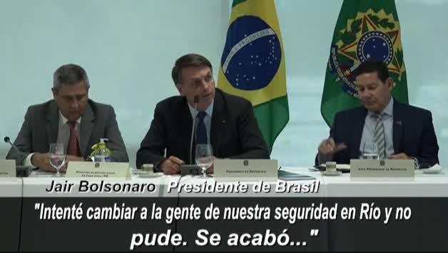 Vídeo: El Supremo de Brasil revela una polémica reunión de Bolsonaro con amenazas e insultos
