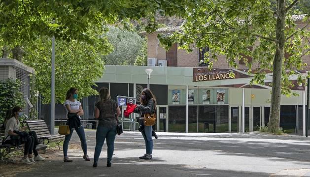 Foto de espacio cultural Los Llanos, en los últimos días de cierre entes de reabrir la cafetería.