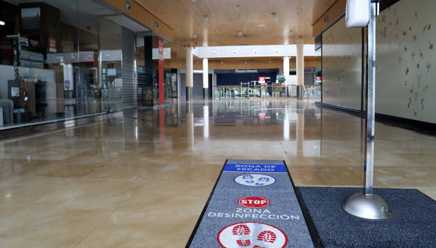 foto de El Centro Comercial Itaroa ha preparado sus instalaciones para la apertura en fase 2