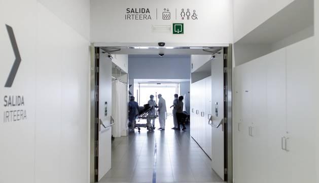 Foto de Urgencias del Complejo Hospitalario de Navarra.