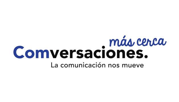 Logotipo de la iniciativa 'Comversaciones Más Cerca'.