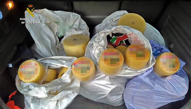 Investigado por el presunto robo de 150 quesos en Navarra