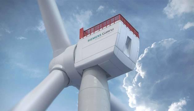 foto de Nuevo modelo de aerogenerador 'SG 14-222 DD' de 14 megavatios (MW) de Siemens Gamesa