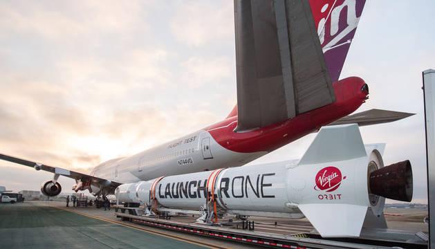 Virgin Orbit falla en el lanzamiento de un cohete en Estados Unidos