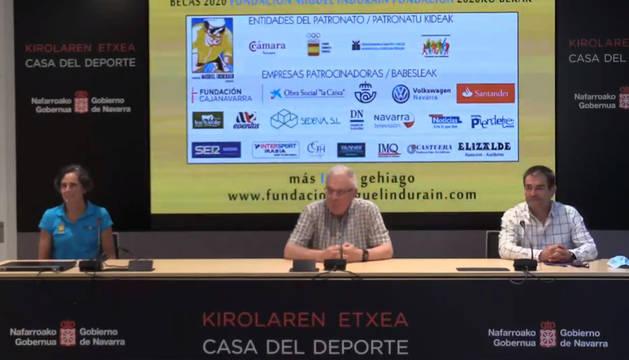 foto de Presentación de las becas de la Fundación Miguel Induráin Fundazioa