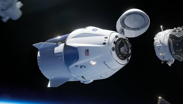 La nave 'Crew Dragon', propiedad de la NASA y SpaceX