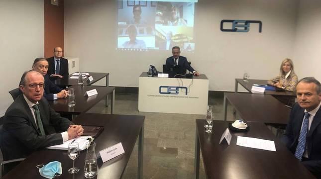 CEN, UGT y CC OO piden ayudas de hasta 15.000 € para crear empleos