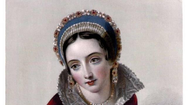 Una imagen idealizada de Juana de Navarra, dibujada el siglo XIX.