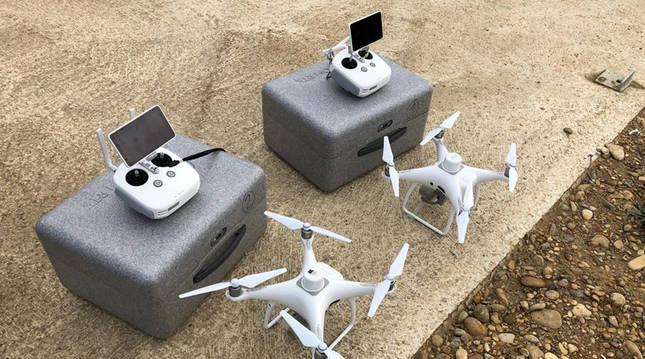 Navarra incorpora drones a los proyectos de construcción de obras públicas