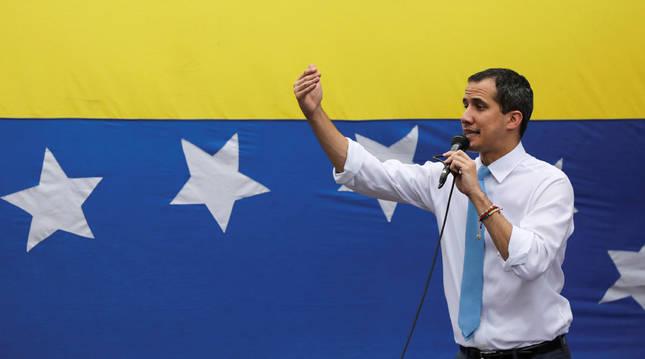 La oposición mayoritaria reivindica a Guaidó como jefe del Parlamento