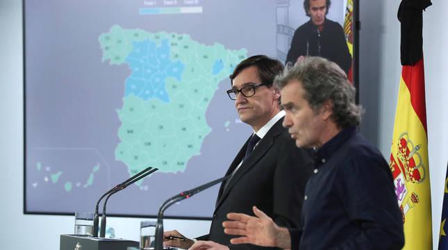 El 70% de los españoles estarán el lunes en fase 2 al añadirse 8 provincias