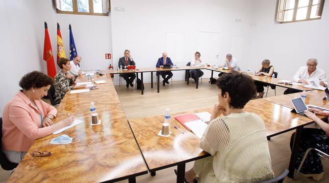 Imagen de la reunión del Consejo del Diálogo Social.