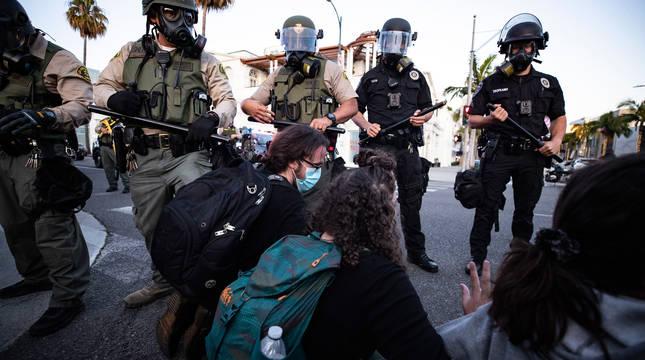Estados Unidos, en llamas por un nuevo caso de violencia policial