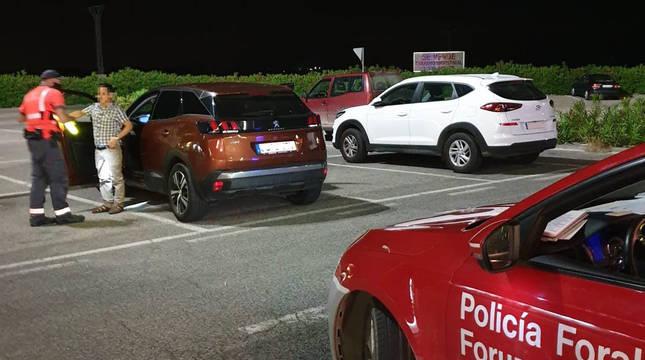 Imputados dos conductores reincidentes en Tudela y Cintruénigo que dieron positivo en alcohol