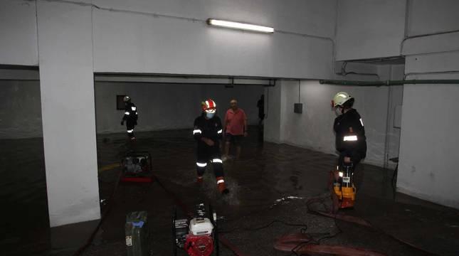 Fotos de las inundaciones tras la tormenta en Tudela