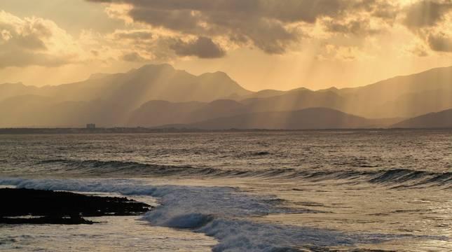 Imagen de archivo de una playa del mediterráneo.