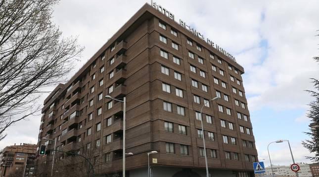 Foto del Hotel Blanca de Navarra, en Pamplona.