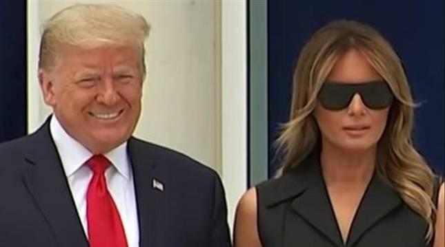 El gesto de Melania Trump que ha dado la vuelta al mundo