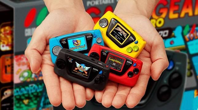 Aspecto que tendrá la nueva 'Game Gear Micro' de Sega