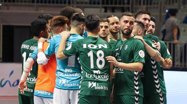 Osasuna Magna disputó el último partido oficial esta temporada el pasado 6 de marzo en la Copa de España en Málaga.