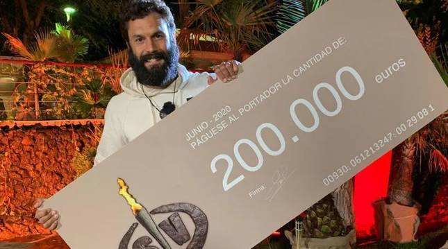 El guardia civil Jorge Pérez gana 'Supervivientes 2020'