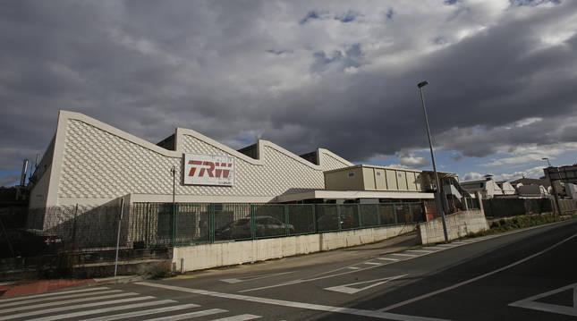 Foto de la planta de TRW en Landaben.