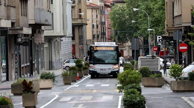 Fotos de la reurbanización de la calle Amaya