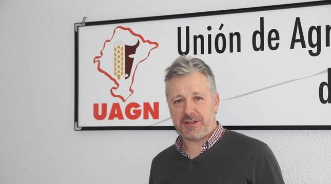 Foto de Félix Bariáin, presidente de la UAGN.