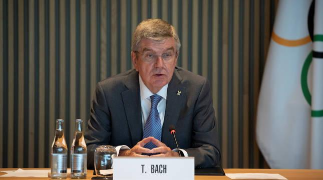 El presidente delCOI, Thomas Bach.