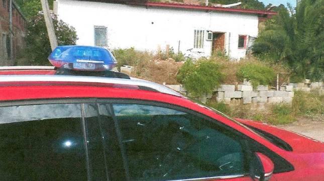 Vivienda de Sartaguda donde se produjo el intento de robo.