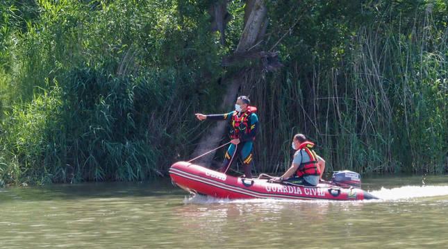 Operativo de búsqueda del cocodrilo supuestamente avistado en Simancas.