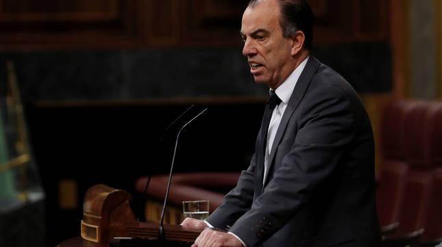 García Adanero, en el Congreso.