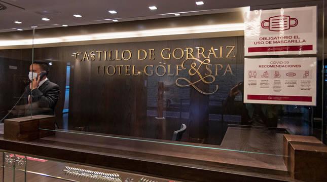 El Castillo de Gorráiz abrió el pasado jueves su hotel y la zona de spa.