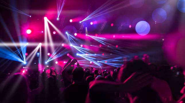 Una discoteca, a pleno rendimiento en la época previa a la pandemia de coronavirus