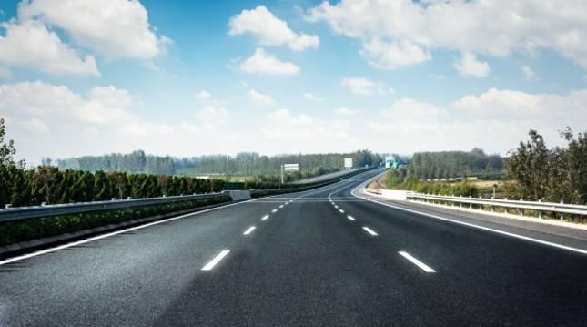 Vista general de una autopista