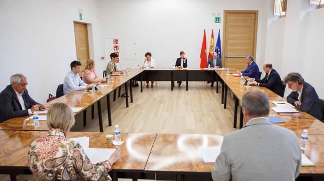 Reunión del Consejo de Diálogo Social.